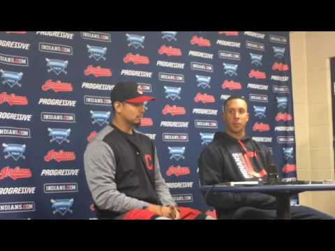 Michael Brantley's long-awaited return to Progressive Field ends with a celebration