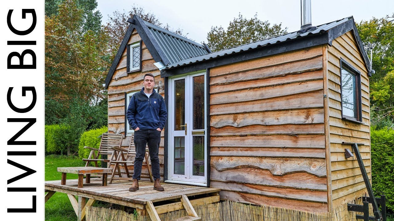 17 Year Old Builds Tiny House For Only 6 000 Youtube