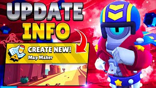 MAP MAKER UPDATE! Sneak Peek #2 w/ @Dimo Academy  | Brawl Stars