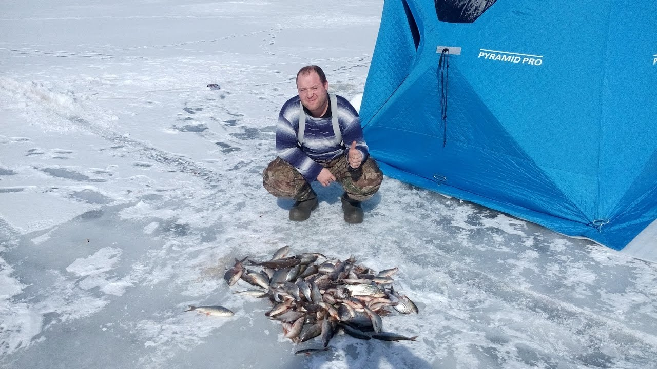 Рыбалка на Красноярском море с Марком