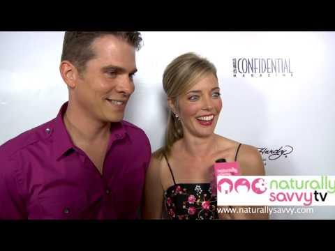 John Ducey & Christina Moore - Naturally Savvy TV's Live From Hollywood