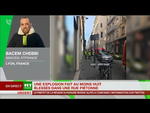 Lyon : une explosion fait au moins 8 blessés légers dans une rue piétonne