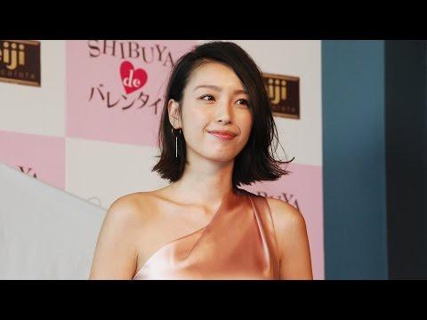 木下優樹菜、産後3ヶ月で体型戻る 第2子出産後初公の場 『SHIBUYA de バレンタイン』開催記者発表会
