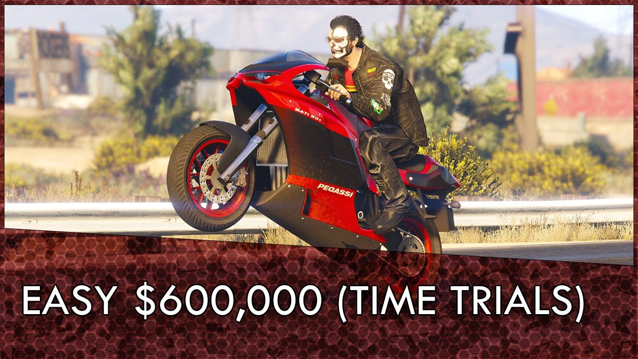 Gta Online Time Trials Guide April 2nd 8th Easy 600k Youtube