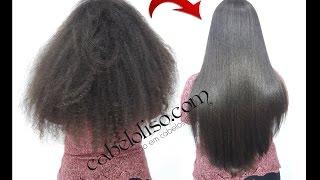 Técnicas avançada para alisar cabelos crespos