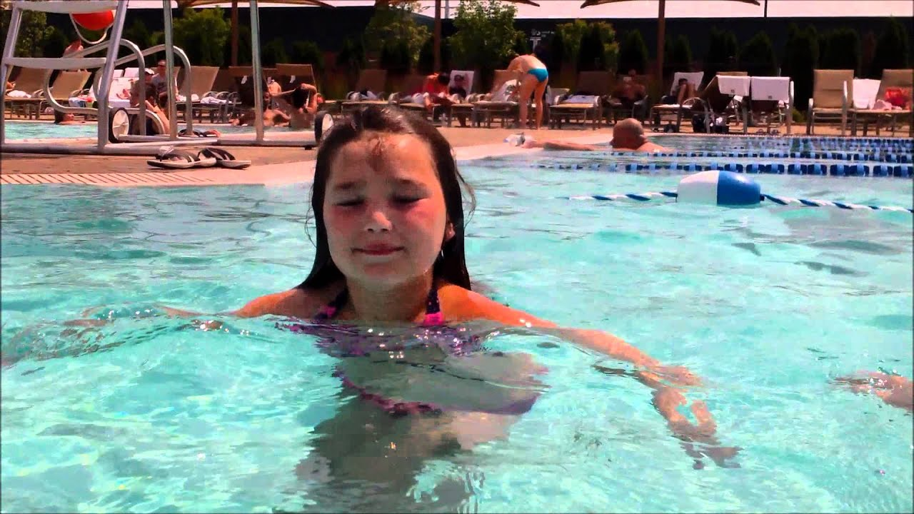 Swimming At Lifetime Fitness Syosset New York Youtube