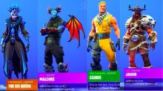 *NEW* Game of Throne Skins in Fortnite & ALL *NEW* Dances! ft. SinX6