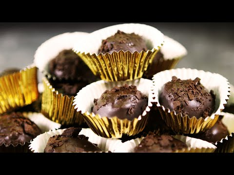 Easy 3 Ingredients Graham Truffles   Chocolate Covered Graham Balls   Munchkins  Party Recipe