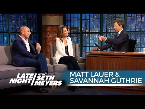 Matt Lauer and Savannah Guthrie on Donald Trump's Effect on the GOP Race
