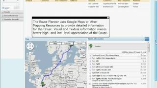 InFact Group - Route Planner