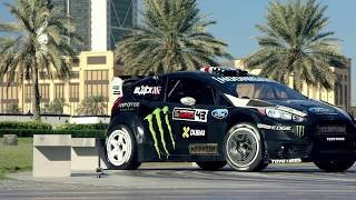 Drift Dubai ÉWN Whogaux Start That Fire Trap Ken Block S