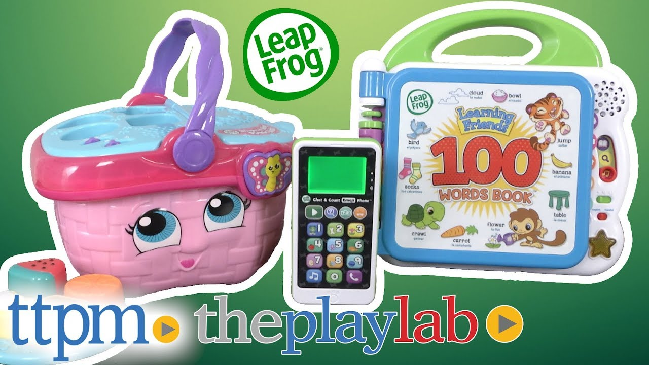 Play Lab   Educational & Learning Toys from LeapFrog - YouTube