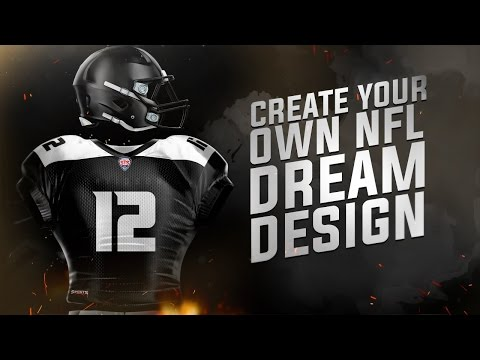Tutorial: Create A Realistic Professional NFL Jersey! (Photoshop CC)