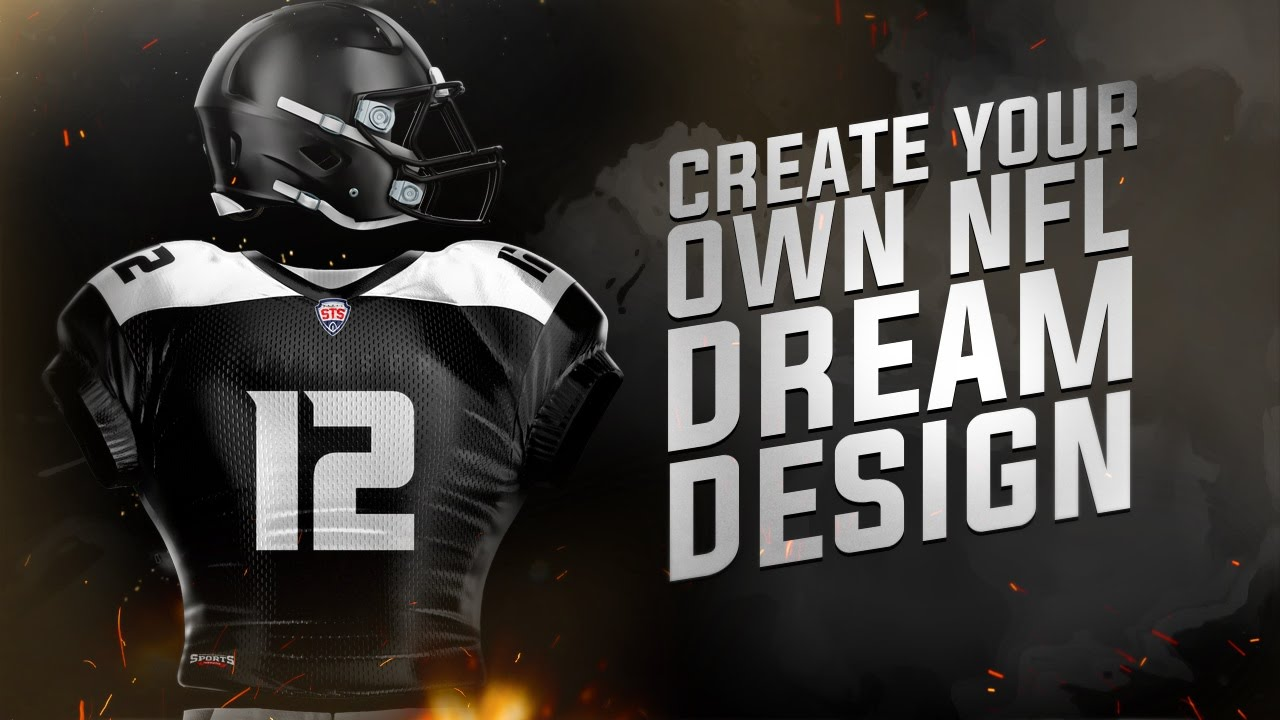 Tutorial: Create a Realistic Professional NFL Jersey ...