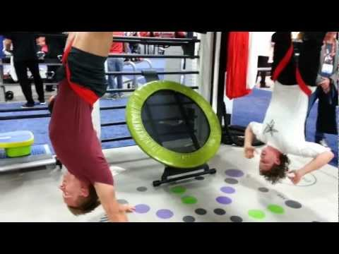 IHRSA 2013 AntiGravity Aerial Yoga / Fitness