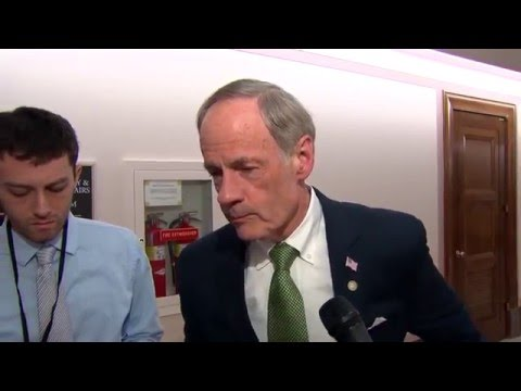 Senator Carper Discusses the US Postal Service following HSGAC hearing