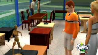 The Sims 2 Open for Business - Gameplay Furniture