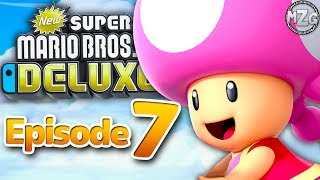 Baixar New Super Mario Bros. U Deluxe Gameplay Walkthrough - Episode 7 - Meringue Clouds 100%! Toadette!
