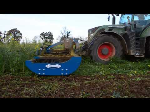 Destruction de couverts végétaux - Agriculture de conservation