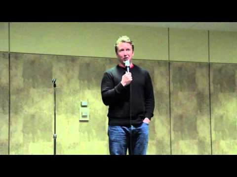 Comedian Chad Daniels Disarms, Charms Campus