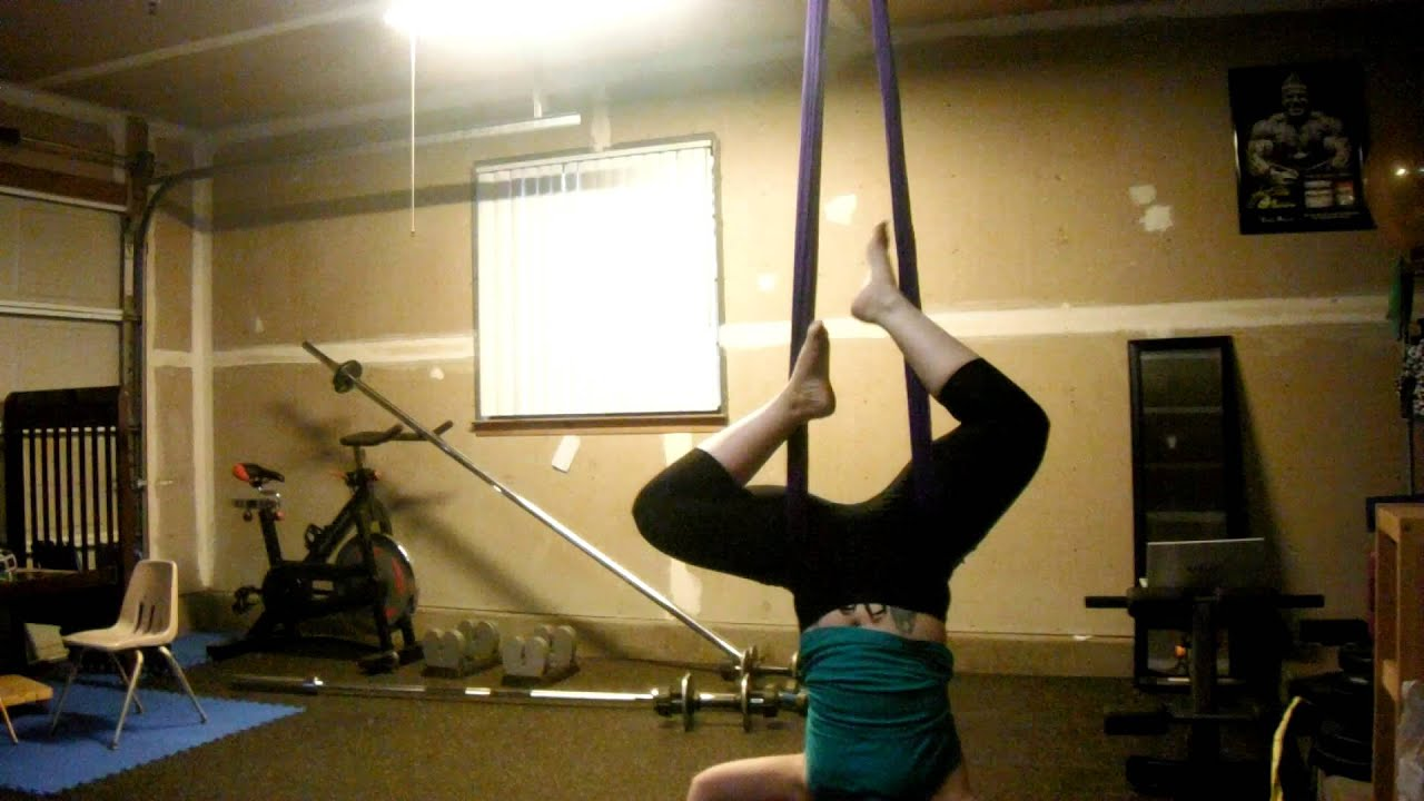 yoga tricks aerial on youtube watch hammock few a