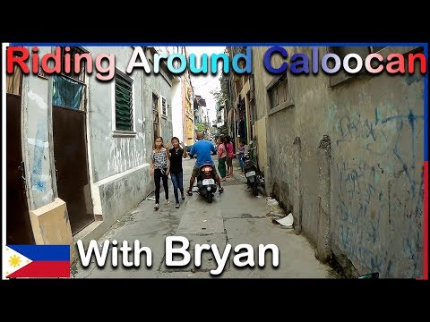 MotoVlog - Ride around Caloocan with Bryan
