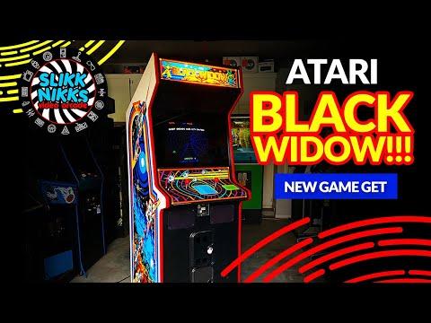111 - Atari Black Widow!!!  New game get!