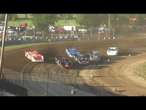 Late Model Heat Race #2 at Crystal Motor Speedway on 07-07-2018