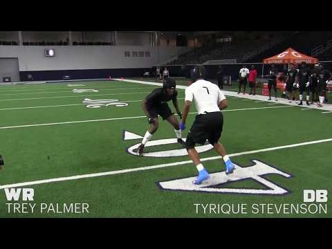 2018 The Opening Finals | WR Vs DB 1 On 1's