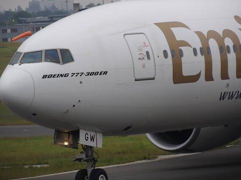 Birmingham Airport Plane Spotting 30/5/2016