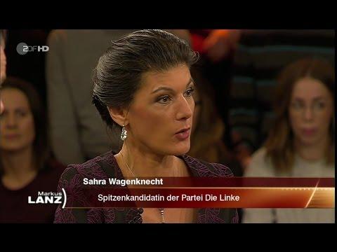Sahra Wagenknecht: Merkel trägt Mitverantwortung 19.01.2017 Markus Lanz - Bananenrepublik