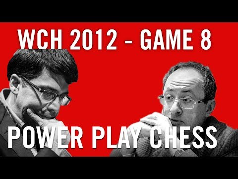 Viswanathan Anand – Boris Gelfand  World Chess Championship 2012 Game 8 analysis by Daniel King