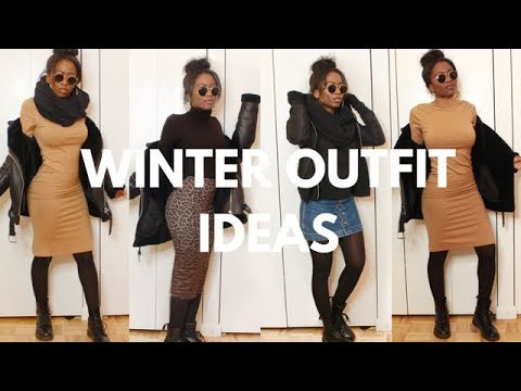 Cute Winter Outfit Ideas - Skirts and Dresses   Darlene Octavia 2