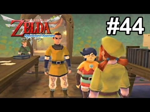 Let's Play TLoZ: Skyward Sword [Blind] - #44 | Good Old-Fashioned Lover Boys