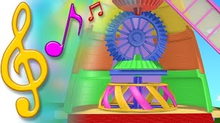 TuTiTu Songs   Windmill Song   Songs for Children with Lyrics