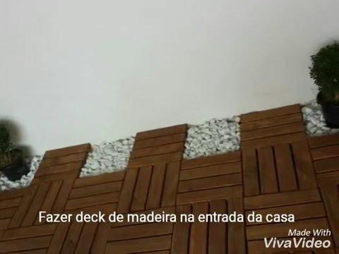 Como Fazer Deck De Madeira Youtube