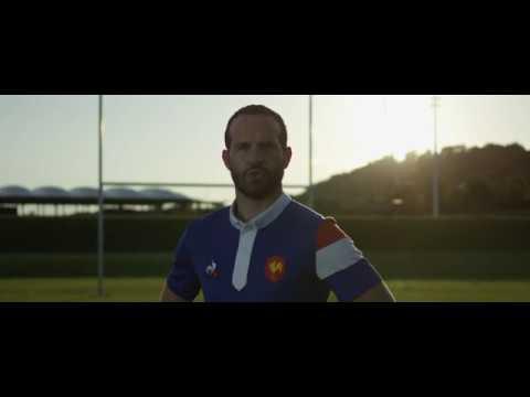"""""""Tu es notre maillot"""" - Maillot XV de France le coq sportif"""