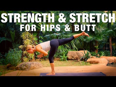 Strength & Stretch for Hips & Butt Yoga Class Five Parks Yoga