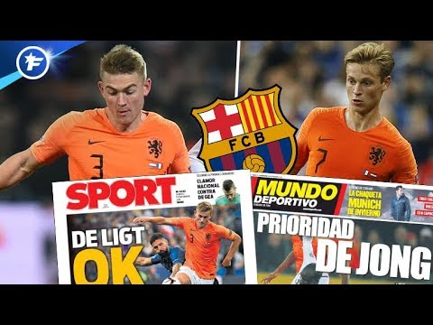 Le FC Barcelone s'enflamme pour les pépites des Pays-Bas   Revue de presse