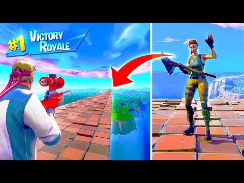 HOW FAR is the LONGEST POSSIBLE SNIPER KILL in Fortnite Battle Royale thumbnail