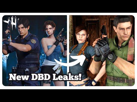 New Chapter 20 LEAKS, Legendary Leon and Jill Cosmetics - Dead by Daylight