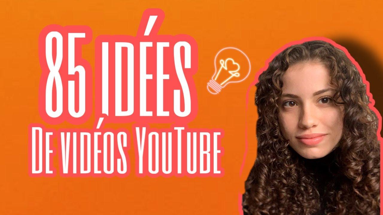 Idée De VidéO Youtube 85 IDÉES DE VIDÉOS YOUTUBE ♡   YouTube