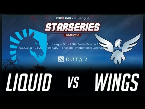 Liquid vs Wings Winners Match Starladder i-League 2017 Lan Highlights Dota 2