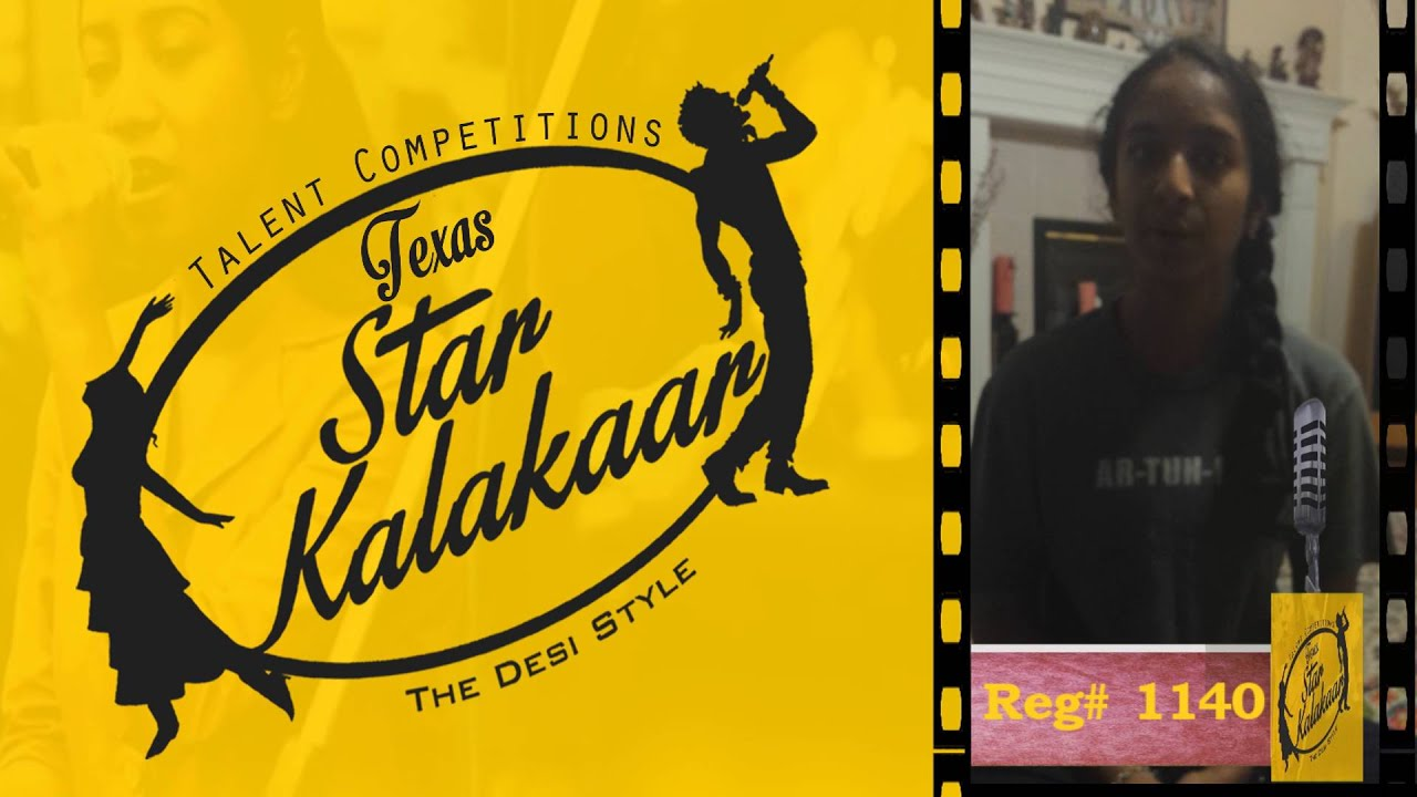 Texas Star Kalakaar 2016 - Registration No #1140