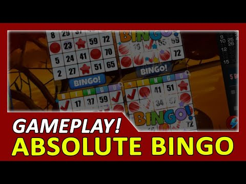 [Gameplay] Absolute Bingo - Free Bingo Games | First 15 Minutes In-Game Experience