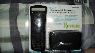 Radio Shack 8-in-1 Universal Remote Control Review