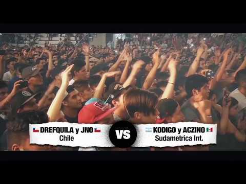 ♛ EL DESAFÍO ♛ KODIGO y ACZINO vs DREFQUILA y JNO * Round Final Nacional 2vs2 *