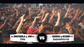 ♛ EL DESAFÍO ♛ KODIGO y ACZINO vs DREFQUILA y JNO * Rou...