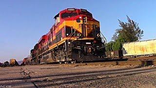 Trenes KCSM En Empalme Escobedo///Railfanning in Escobedo!