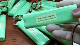 Pin sạc 4.8v 700mAh, Pin đèn Exit Khẩn cấp sự cố 4.8v 700mAh (Www.pinnuoinguon.vn)